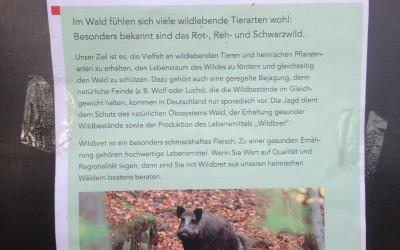 "Waldfenster ""Jagd"" bei Konradsdorf"