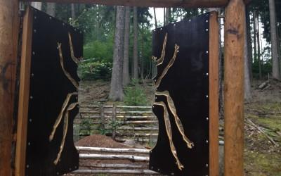 """Waldfenster """"Ameisen"""" im Büdinger Traumwald"""