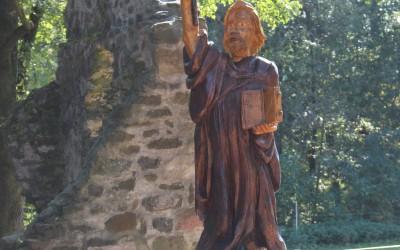 Bonifatius an der Schafskirche bei Lißberg