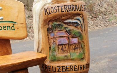Bikerbank für die Gemündener Hütte - Kreuzberg / Rhön