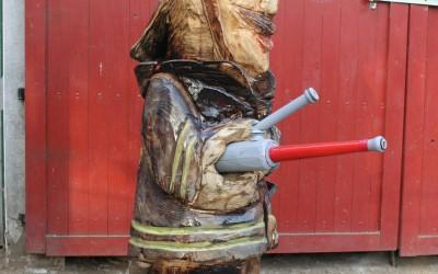 Der typische Calbacher Feuerwehrmann
