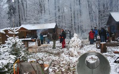 Weihnachtsbaumevent im Pflanzgarten 2010