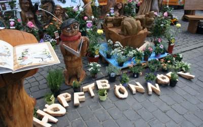 Auf dem Büdinger Gärtnermarkt