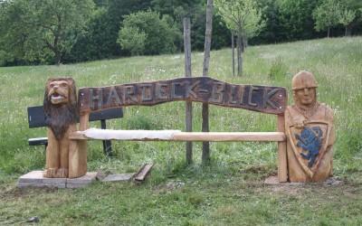 Die Hardecker Bank bei Büdingen Calbach