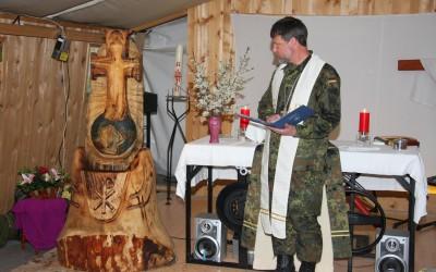 KFOR Kreuz für Prizren Airfield , Kosovo