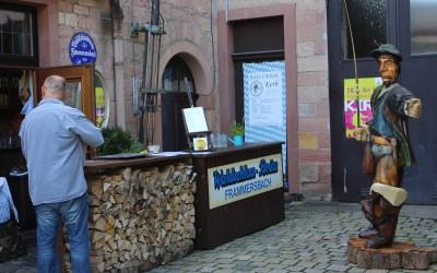 Frammersbacher Fuhrmann in der Waldschloss- Brauerei